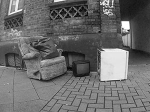 Street Life-easy chair,TV,fridge